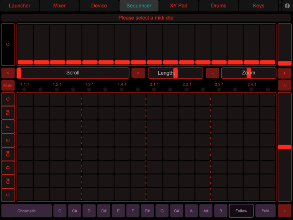 LiveControl - Sequencer