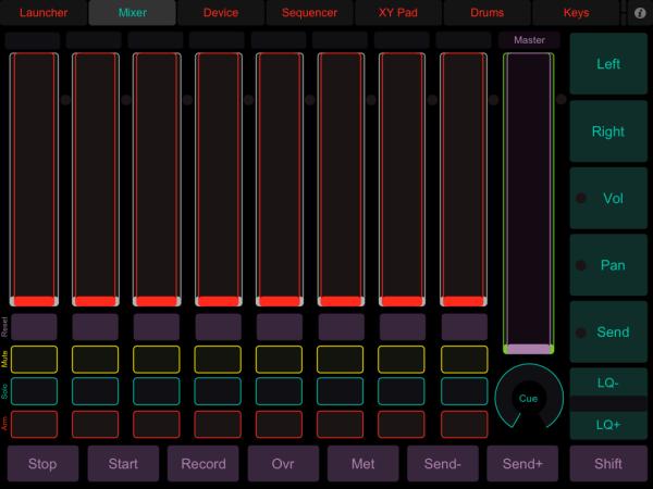 LiveControl - Mixer